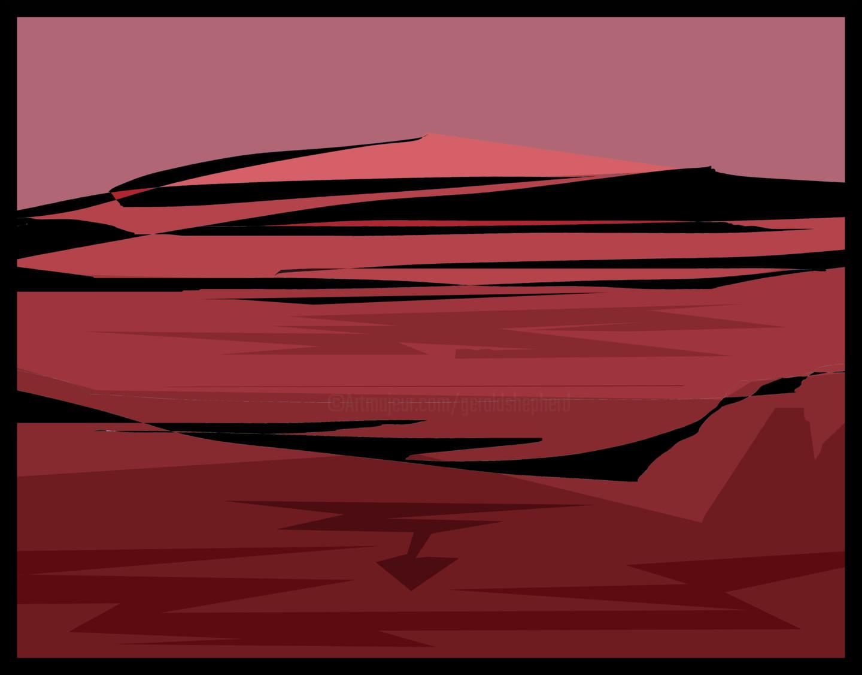 Gerald Shepherd - Red Landscape*