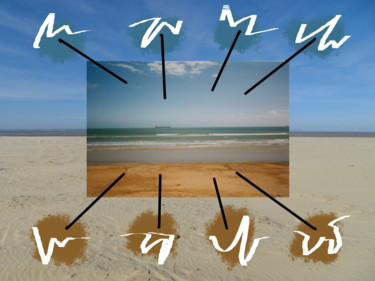 Movements In Sky And Sand