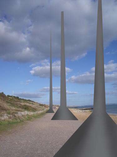 Beach Pillars