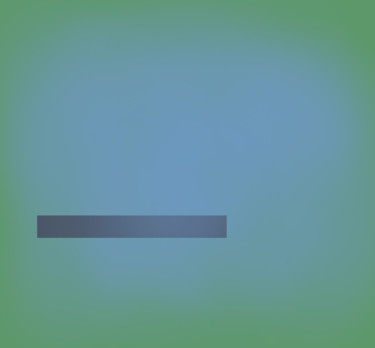 Blue On Green (Horizontal Line)