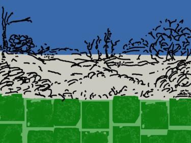 Scrub Above Grass