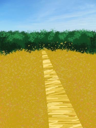Path Through A Cornfield