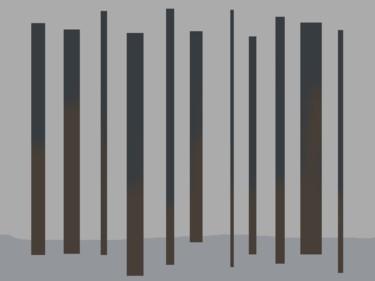 Poles In Landscape