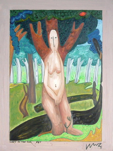 Lady In The Forest One