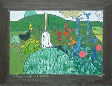 The Artist's Wife In A Garden 1