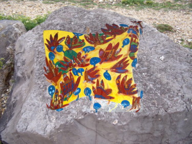 Painting On A Rock