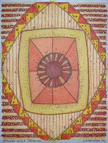 African Shield Variation 1