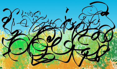 Calligraphic Landscape