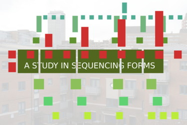 A Study In Sequencing Forms