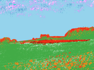 A Painting Of Windmill Hill Coaxed Back