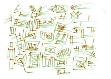 Geometric Grass