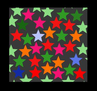 Random Stars - Colour Version