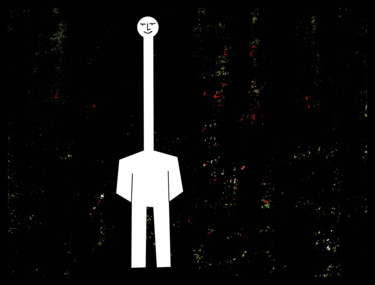 Man With Long Neck