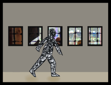 Walking Through The Exhibition