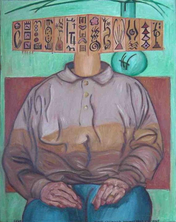 Gerald Edward William Shepherd - June Shepherd Hammerhead Portrait