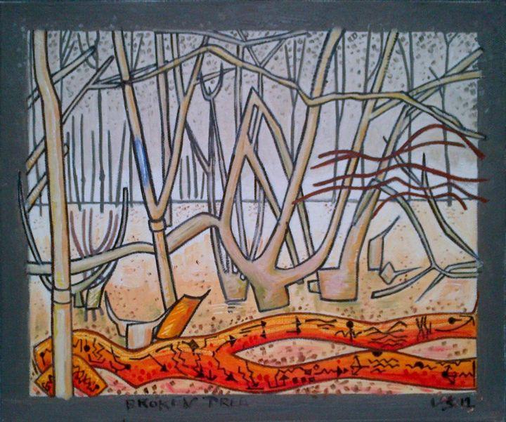 Gerald Edward William Shepherd - Broken Tree