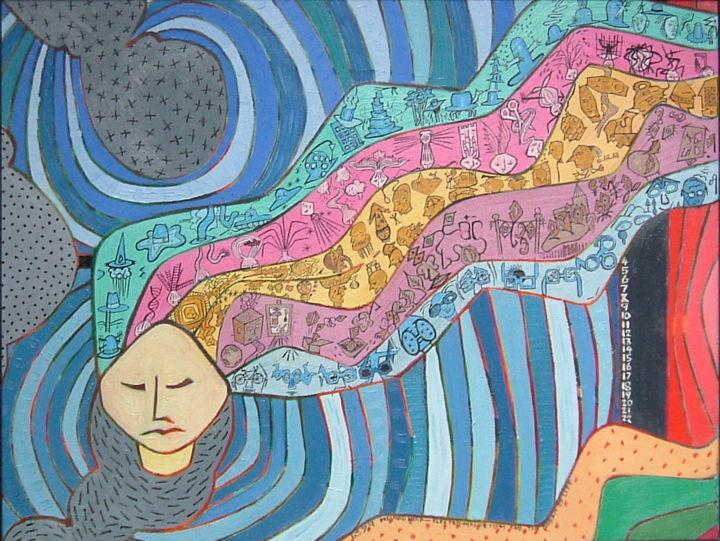 Gerald Edward William Shepherd - Dreaming Head