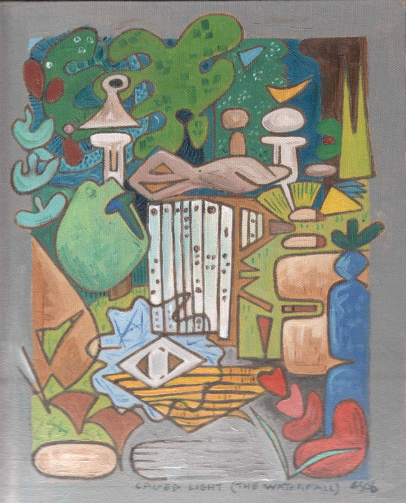 Gerald Edward William Shepherd - Caged Light (The Waterfall)