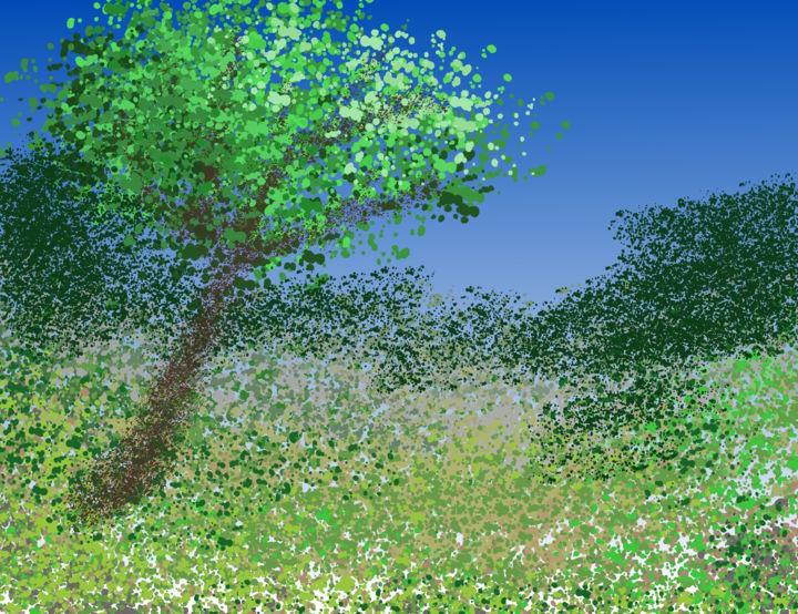 Gerald Edward William Shepherd - Tremulous Landscape