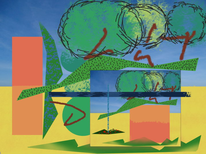 Gerald E. W. Shepherd - Summer Landscape Study