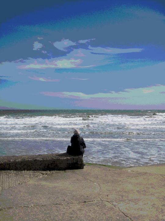 Gerald Edward William Shepherd - Alone On The Beach