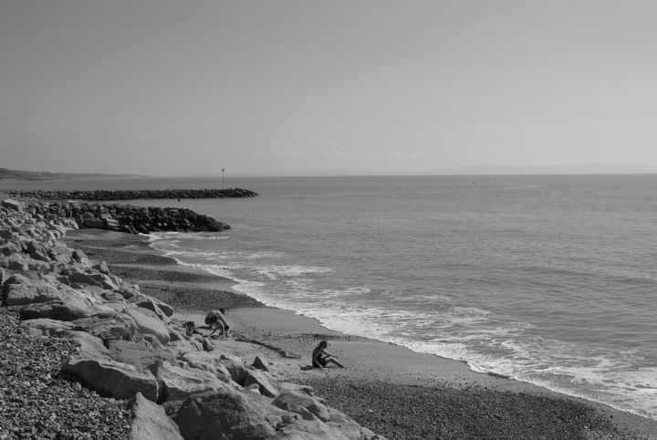 Gerald E. W. Shepherd - Beach Scene
