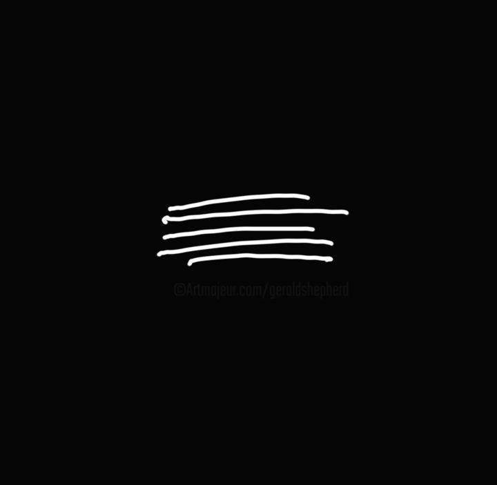 Gerald Shepherd - Five Lines On Black