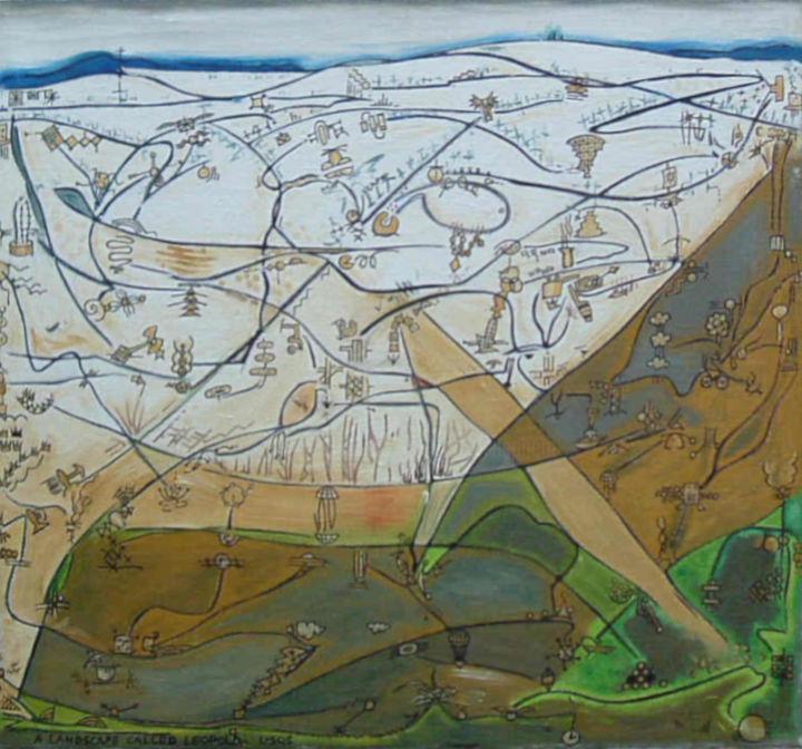 Gerald Edward William Shepherd - A Landscape Called Leopold