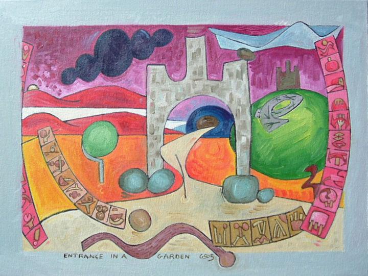 Gerald E. W. Shepherd - Entrance In A Garden 2