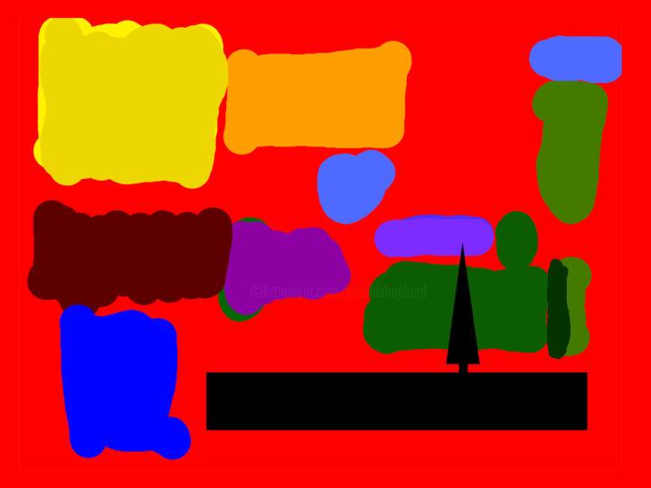 Gerald Shepherd - Landscape With Single Tree