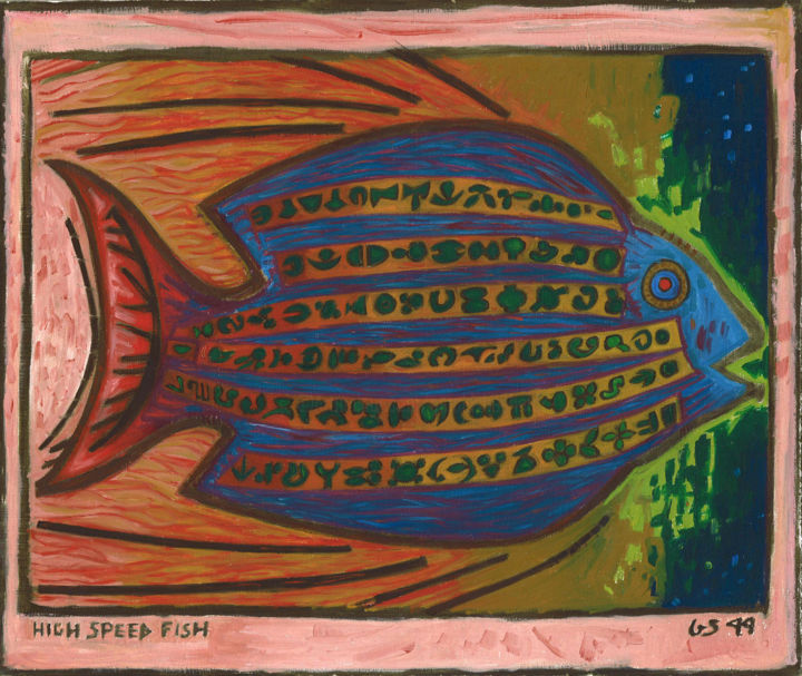 Gerald Edward William Shepherd - High Speed Fish