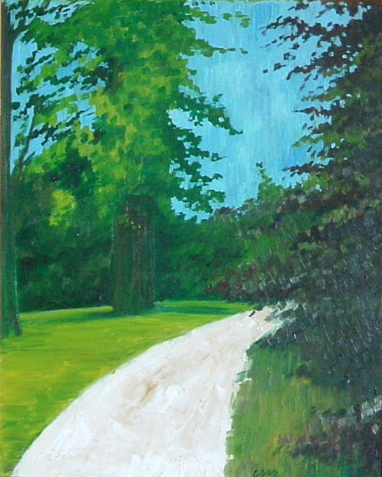 Gerald Edward William Shepherd - Woodland Walk