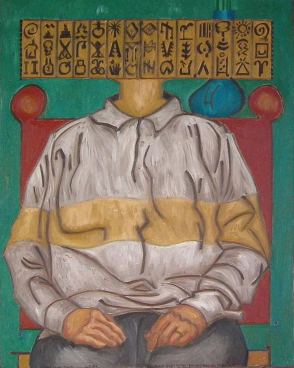Gerald Edward William Shepherd - June Shepherd - Hammerhead Portrait