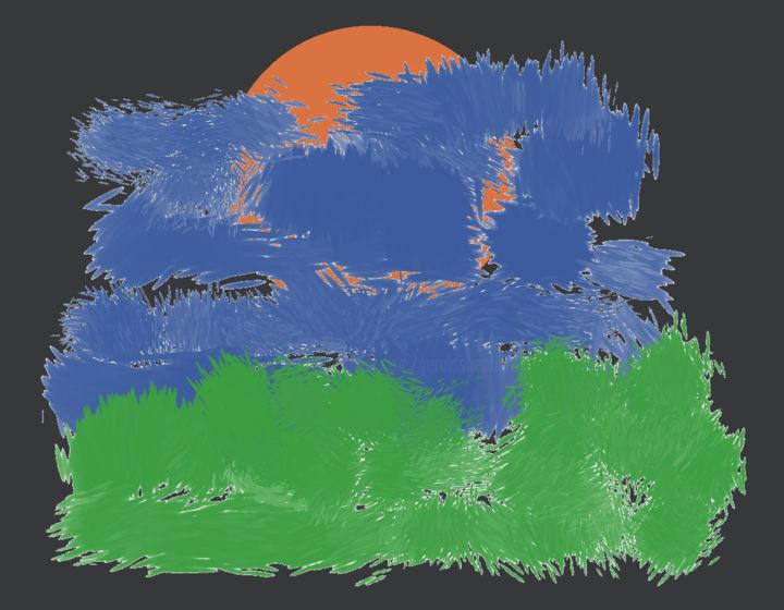 Gerald Edward William Shepherd - Solar Eclipse On The Lawn