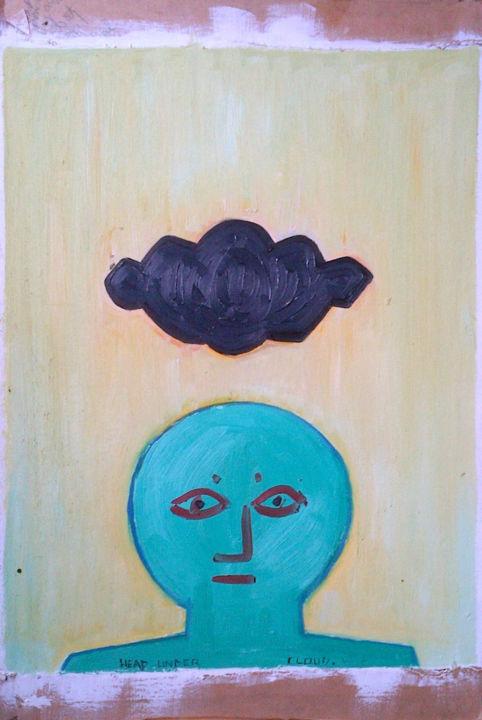 Gerald E. W. Shepherd - Head Under Cloud
