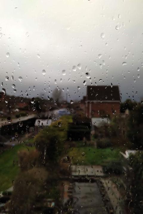 Gerald E. W. Shepherd - Wet Day Window