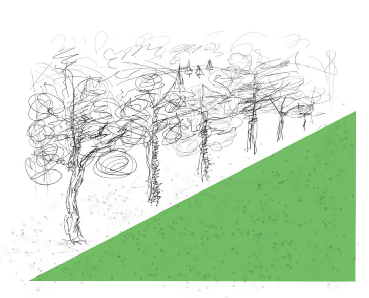 Gerald Edward William Shepherd - Line Of Trees