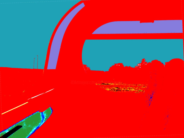 Gerald Shepherd - Landscape From A Bus