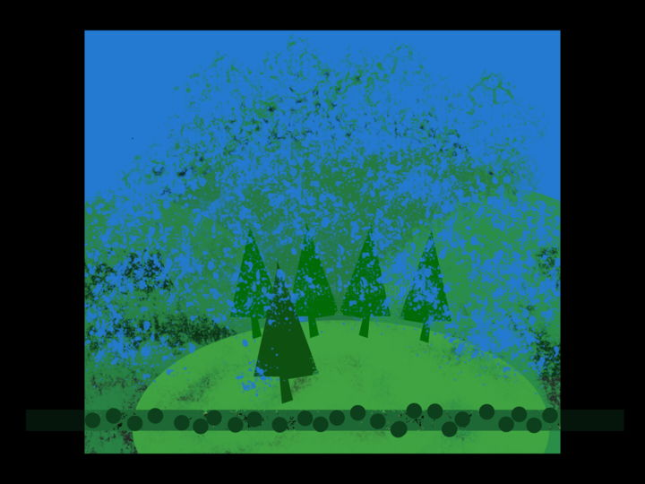 Gerald Shepherd - Dissolving Landscape